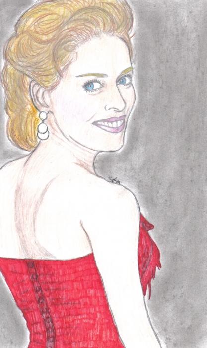 Sharon Stone par Sofya